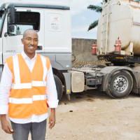 """Aimé Rwankineza, vice-président de l'Association des Transporteurs Internationaux du Burundi et directeur général d'A&C Trading s.a.: """"Cette décision louable n'influencera pas, dans l'immédiat, les prix sur le marché burundais"""" ©Iwacu"""