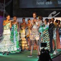 Première édition de Bujumbura Fashion Week ce samedi 5 juillet. La collection du nigérian Adebayo ©O.N/Iwacu