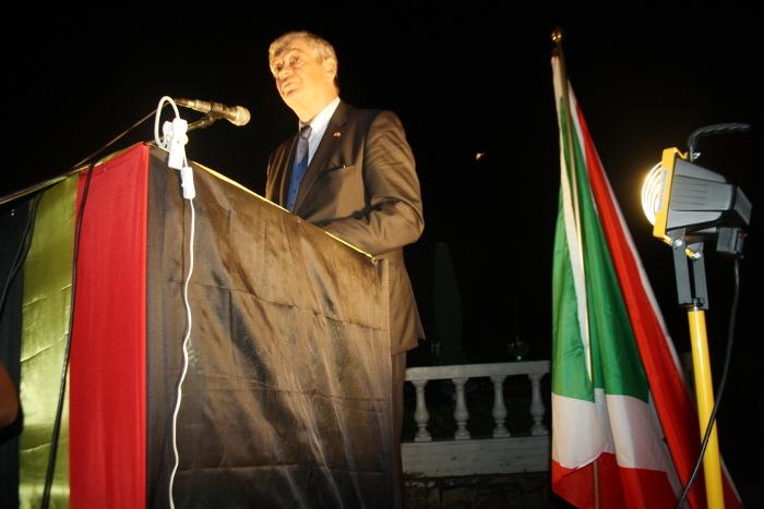 L'ambassadeur belge : « J'espère que je ne serai pas obligé de vous expliquer l'année prochaine pourquoi on n'a pas encore un gouvernement, comme j'ai dû le faire à Kampala en 2011 après les élections de 2010 » ©Iwacu