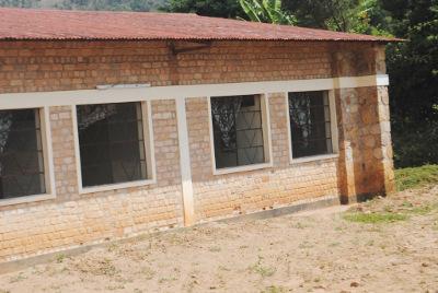 Les salles provisoires du Parquet près la cour d'appel de Bururi ©Iwacu