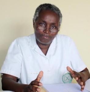 Marie Bukuru, secrétaire exécutive de la Confédération des Syndicats du Burundi ©Iwacu