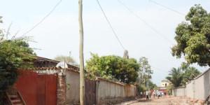 Photo un poteau d'électricité au Quartier 7©Iwacu