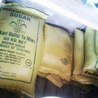 Plusieurs sacs de faux sucre dans un entrepôt ©Iwacu