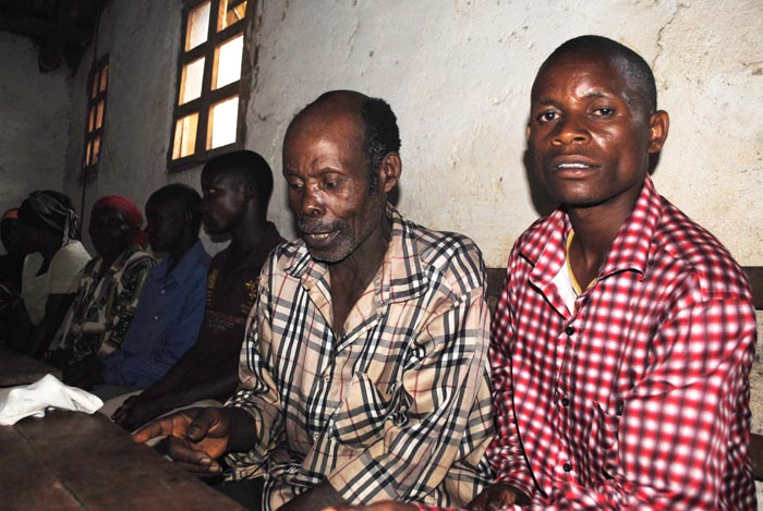 Quelques unes des victimes ©Iwacu