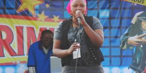 Une des concourantes du Primusic 2014, à Kayanza ©Iwacu