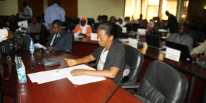 Vue partielle des sénateurs en session ©Iwacu