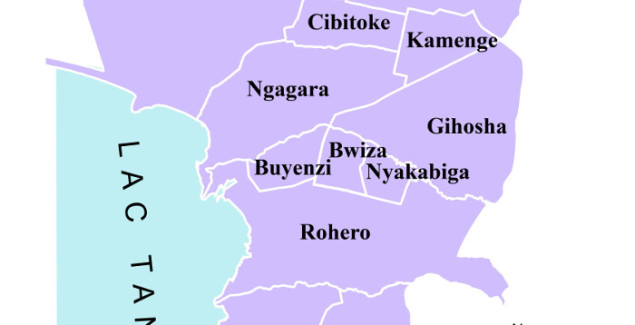 Bujumbura communes