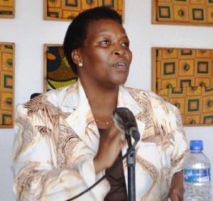 Christine Nkurunziza : « Il faut des métiers pour les jeunes, des projets de développement, des universités pour être plus concurrentiels dans l'East African Community » ©Iwacu