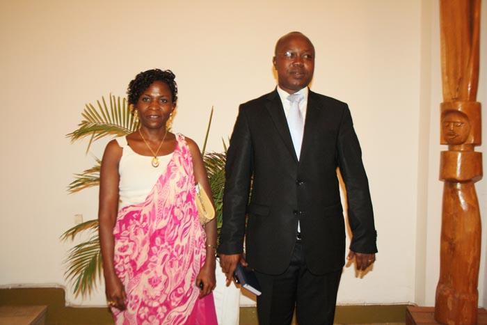 Les deux heureux élus après le vote à l'Assemblée nationale ©Iwacu