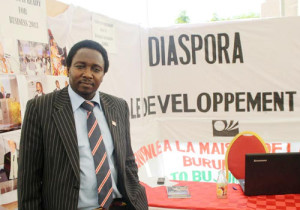 Japhet le Gentil Ndayishimiye, président de l'AIDBU  ©Iwacu