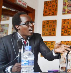 Jean-Régis Nduwimana : «  C'est déplorable qu'il se remarque une tendance à la réédition de l'histoire » ©Iwacu