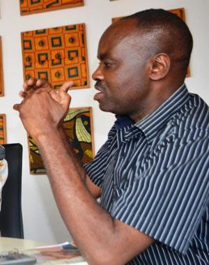 Pascal Kumbuga : « Il faut travailler pour l'intérêt national, au lieu de chercher à créer des mésententes entre les membres des différents partis politiques » ©Iwacu