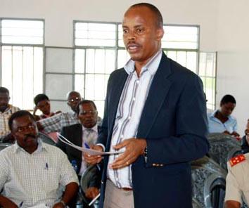 Aimé Nkurunziza : « Les élus du peuple étaient préoccupés par la décentralisation de la mairie » ©Iwacu
