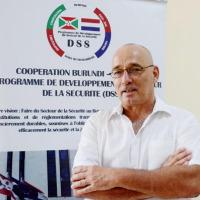 Alwin Van Den Boogaard, l'ancien directeur du programme de Développement du Secteur de la Sécurité (DSS) ©Iwacu