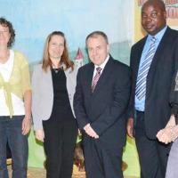 Avec la delegation du FNL_Une