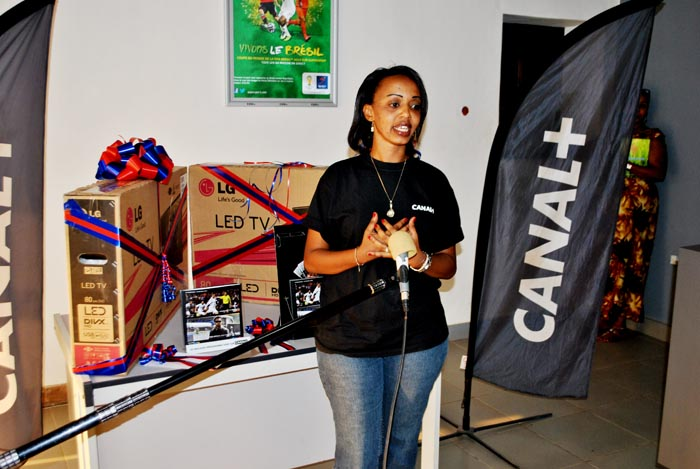 Ariane Niyomwungere, directrice commerciale à Télé 10-Burundi