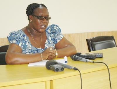 Jeanne Hashazinka, directrice générale de la prévision et de la planification nationale au ministère des Finances et de la Planification du Développement Economique