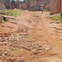 L'Avenue de la Mutualité du quartier Rango ©Iwacu