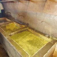 Les éviers servant au lavage des viscères intestinaux