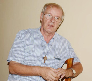 Mario Pulcini, curé de la paroisse de Kamenge ©Iwacu
