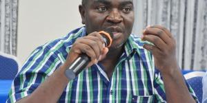 Phénias Niyigaba : « Les insignes du partis ont été créés et inventés par le héros de la démocratie Melchior Ndadaye. Il faut les faire respecter. » ©Iwacu