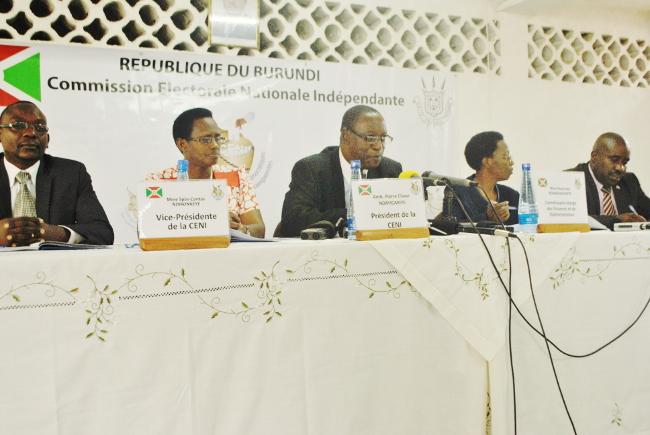 Pierre Claver Ndayicariye : « Nous allons tout faire pour rester collé à la loi » ©Iwacu