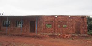 Une salle de classe en construction à Nyabututsi à Mwaro ©Iwacu