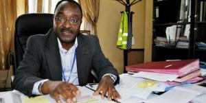 Albert Maniratunga, l'Administrateur directeur général de l'Autorité de l'aviation civile internationale  ©Iwacu