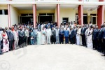 Mardi, 14 octobre 2014 - Prestation de serment des nouveaux membres des commissions électorales provinciales indépendantes pour les élections de 2015. Photo de famille avec les commissaires de la CENI ©AK/Iwacu
