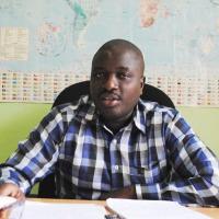 Faustin Ndikumana, lors de son point de presse de  ce mercredi 1er octobre ©Iwacu