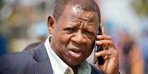 Lambert Mende, porte-parole du gouvernement congolais