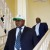 Dr Jean Minani à son arrivée à Ego Hôtel accompagné de Domitien Ndayizeye ©Iwacu