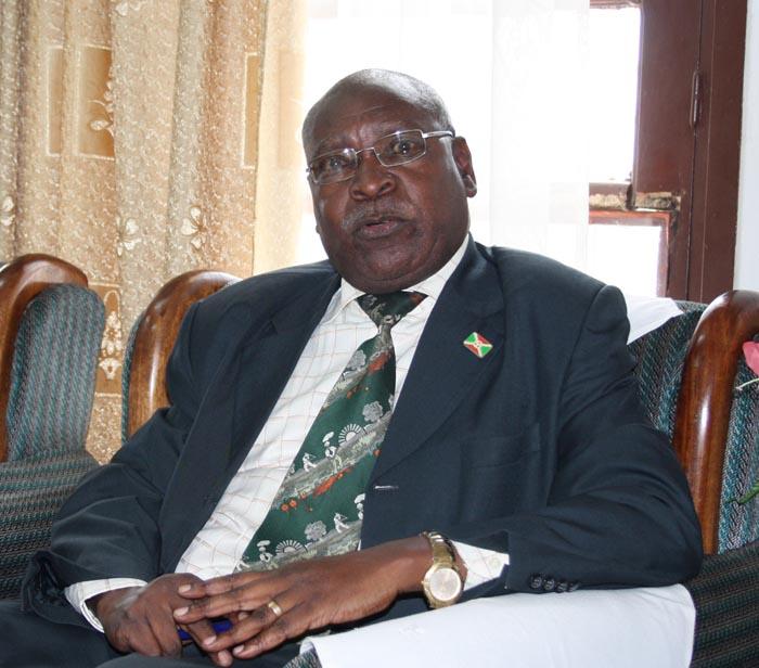 Philippe Nzobonariba met en garde quiconque interpréterait cette mise en liberté provisoire de M. Mbonimpa comme une consécration de l'impunité au Burundi  ©Iwacu
