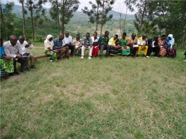 Les caféiculteurs burundais et rwandais échangeaient sur les formations reçues
