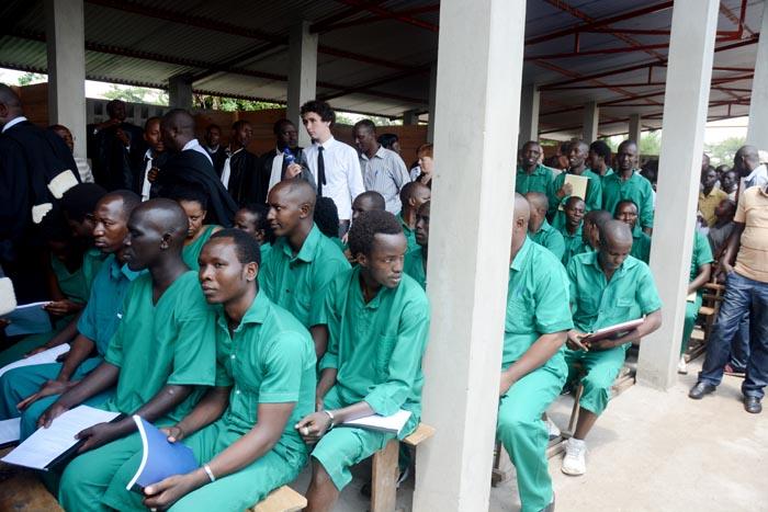 L'audience s'est tenue dans les enceintes de la prison centrale de Mpimba ©Iwacu