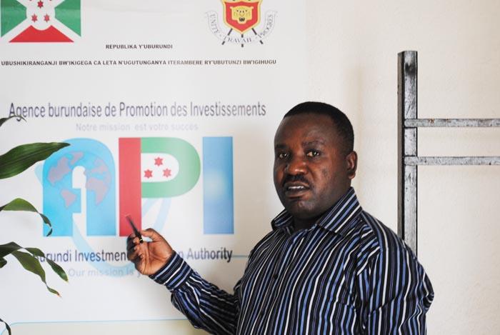 Antoine Kabura : « Il y a un vide juridique sur bien des points.Ce n'est pas la faute à l'API » ©Iwacu