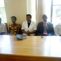Les membres de la CECI Gitega