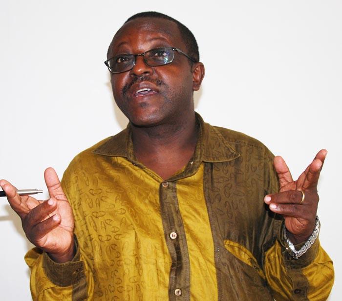 Charles Nihangaza : « L'API ne peut même pas savoir là où les  entreprises  sont implantées ». ©Iwacu