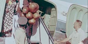 •Arrivée des Burundais à l'aéroport d'Elisabethville(Lubumbashi)  au Katanga