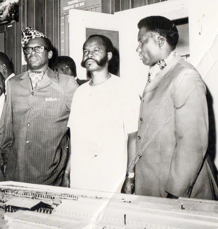 •Les présidents Mobutu Sese Seko du Zaïre, Michel Micombero du Burundi et Juvénal Habyalimana  du Rwanda : la CEPGL est en gestation