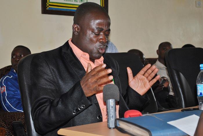 Maulid Juma, président de la TCCIA, une association des commerçants tanzaniens ©Iwacu