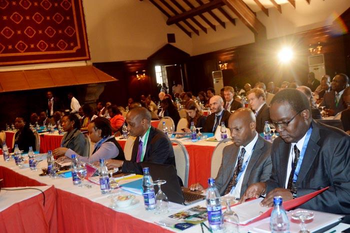 Les participants au forum des partenaires de TMEA à Windsort Hotel, Nairobi  ©Iwacu
