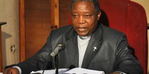 Mgr Sérapion Bambonanire : « Ce chef de zone a avoué qu'il fabrique ces documents. » ©Iwacu