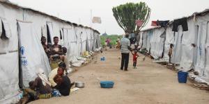 La guerre a entraîné la création des camps de déplacés ©Iwacu