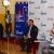 Jeudi, 20 novembre 2014 - Smart « Let's Talk » a organisé une table ronde en faveur des médias afin de leur parler de la position de la société sur le marché. C'était aussi l'occasion parler de ses innovations de l'entreprise sous régionale, propriété du groupe Aga Khan. De gauche à droite : le directeur commercial, le D.G de Smart Burundi et le DG de Smart dans la sous-région ©O.N/Iwacu