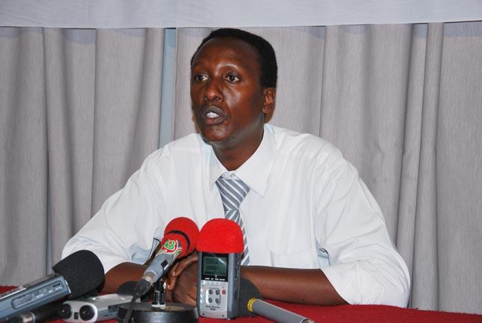 Vital Nshimirimana : « J'espère que les Nations unies vont désormais se ressaisir et prendre la question sérieusement en main. » ©Iwacu