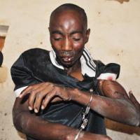 Eric Niyongabo, un des voleurs attrapés par les habitants de Kamenge ©Iwacu