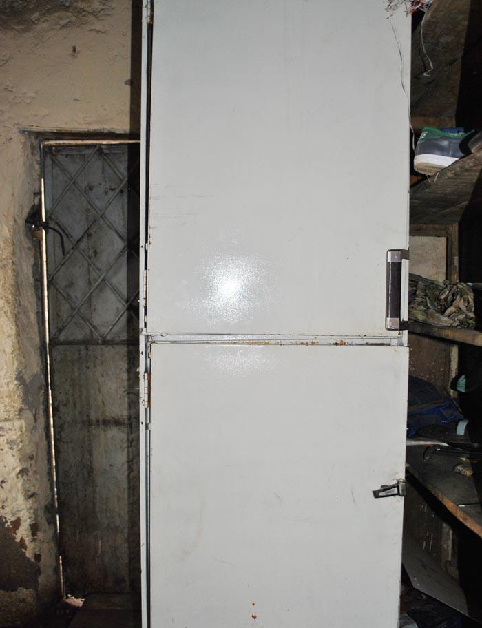 Le réfrigérateur de Ngendakuriyo en panne