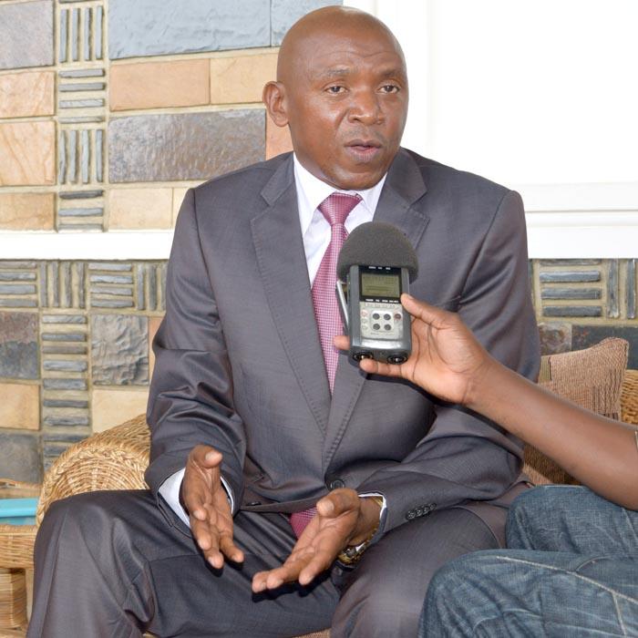 Agathon Rwasa : « Le pouvoir ne va pas s'imposer des partenaires ou les créer. »©Iwacu