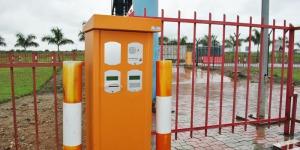 -Le système d'accès et de péage non encore réparé à la barrière de l'aéroport ©Iwacu